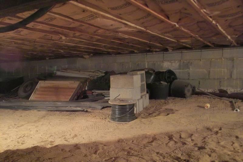 строительство бункера с укрепленными стенами и крышей