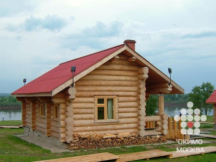 Купите Строительство бревенчатых бань в Москве и Московской области по цене 1 в регионе Москва