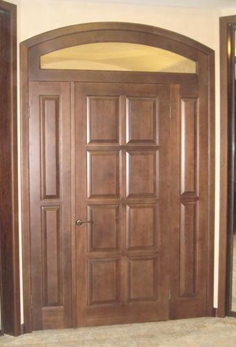 двери входные массив сосна