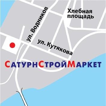 Схема проезда к офису компании в г. Самара по ул. Кутяковой.