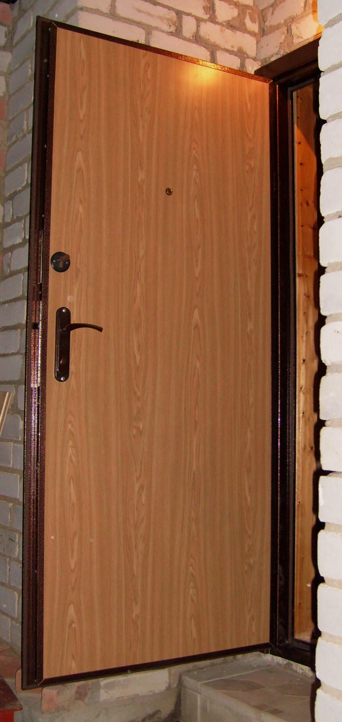 железная утепленная дверь купить