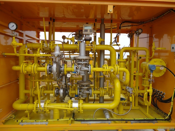 Газорегуляторные установки УГРШ(К) с узлом учета газа, УГРШ(К) с счетчиком газа